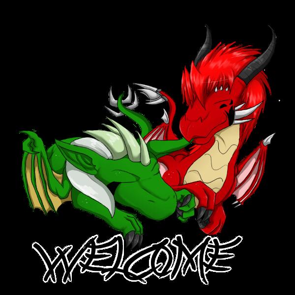 Chibi Dragons by Drache-Disunki