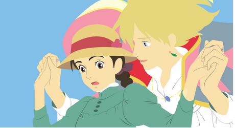 Howl's moving castle by Cresceria