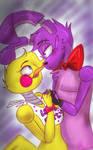 Toy Chica X Bonnie