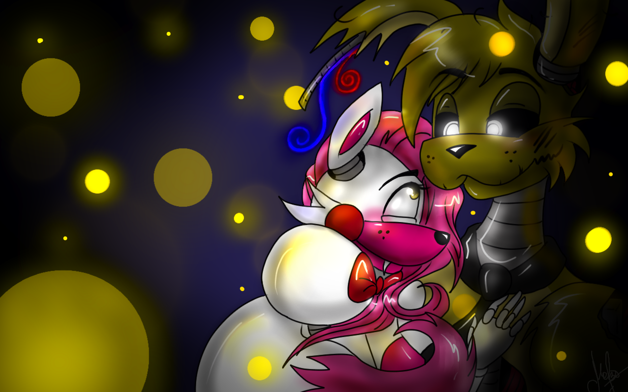 Mangle x springtrap by crazy matroskin55 on deviantart