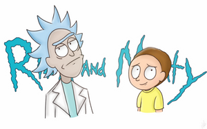 Rick and Morty by Crazy-Matroskin55