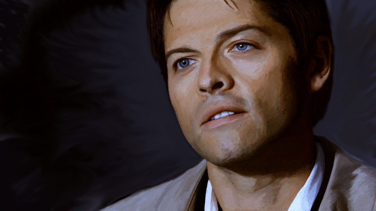 castiel by Blueraven90