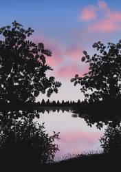 Summer Night by netsurikigakudai2