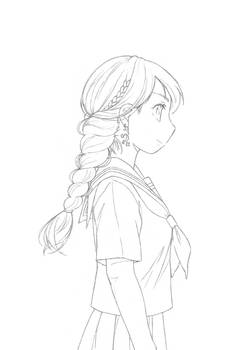 Line art - Sailor uniform