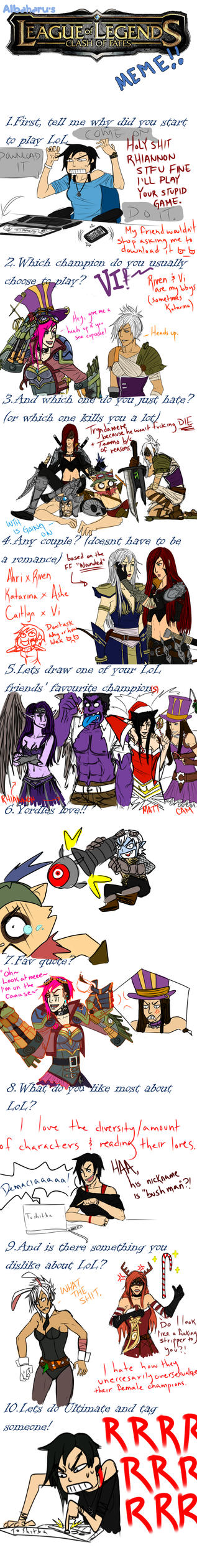 League Of Legends Meme by Ryuuuna