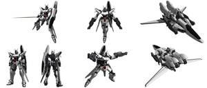 VTM-01NT Auberon Gundam poses