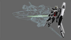Auberon Gundam -rendered- by Illsteir