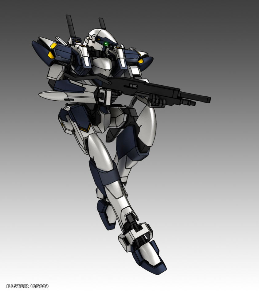 ARX-7 Arbalest -Final- by Illsteir
