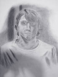 Jereth Bane self portrait by Jeremy-Burner