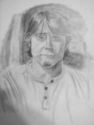 Jereth Bane self portrait 2 by Jeremy-Burner