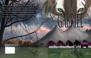 Gabriel and the black candy circus book cover  by Jeremy-Burner