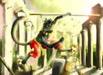 Jo-Jo The Black Cat by Jeremy-Burner