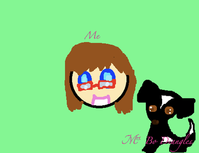 Me and my dog by elisethefox009