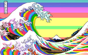 The Great Rainbow Off Kanagawa by sessiondesign