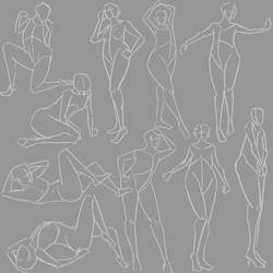 Gesture drawing. Day 102