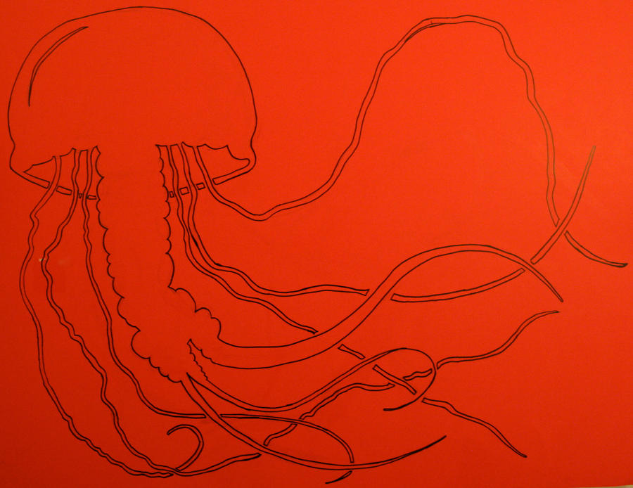 Line Art Jellyfish : Jellyfish stencil line art by dharmasimone on deviantart