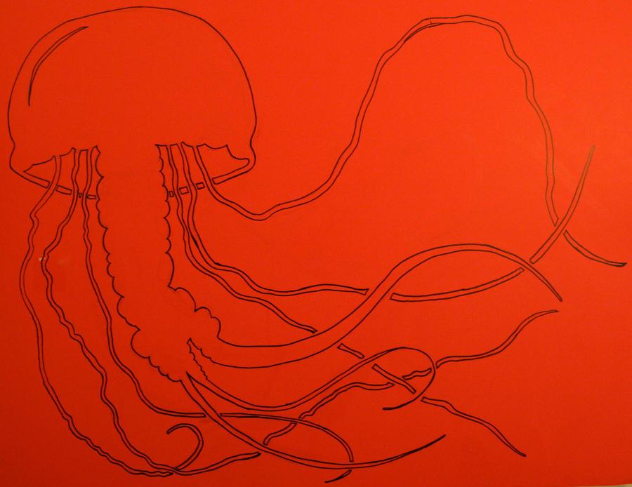 Line Drawing Jellyfish : Jellyfish stencil line art by dharmasimone on deviantart