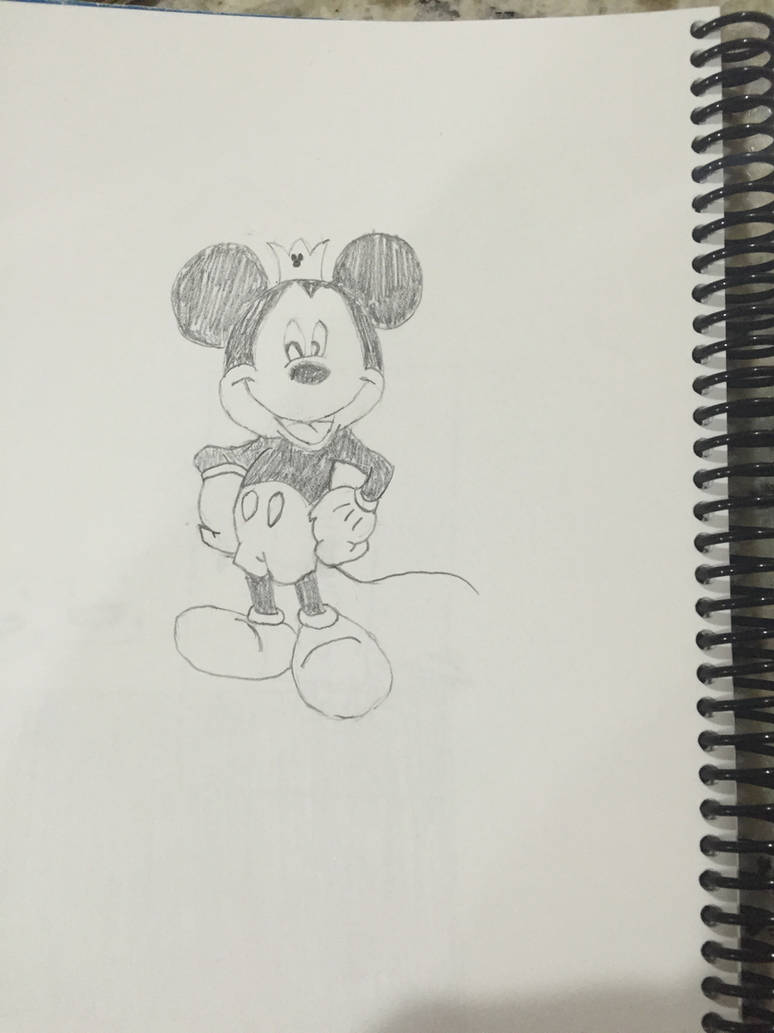 Mickey Mouse Normal Sketch