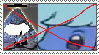 Anti Bill Cipher x Sapphire stamp by MarioSonicPeace