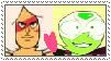 Peridot x Jasper stamp by MarioSonicPeace