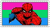 (Request) Polysexual Spider-Man stamp by MarioSonicPeace