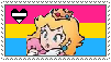 (Request) Heteromantic Pansexual Peach stamp by MarioSonicPeace