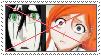 Anti Orihime Inoue x Ulquiorra stamp by MarioSonicPeace