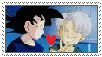 (Gift) Goten x Trunks stamp by MarioSonicPeace