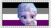 Asexual Elsa stamp by MarioSonicPeace