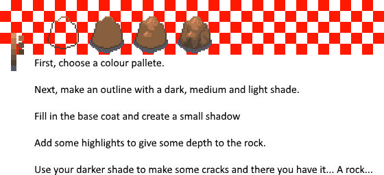 How to make a rock... Seriously.