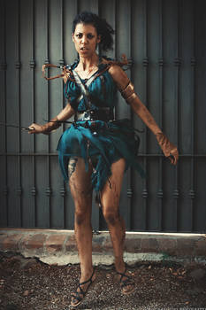 Spartacus: Fierce Naevia