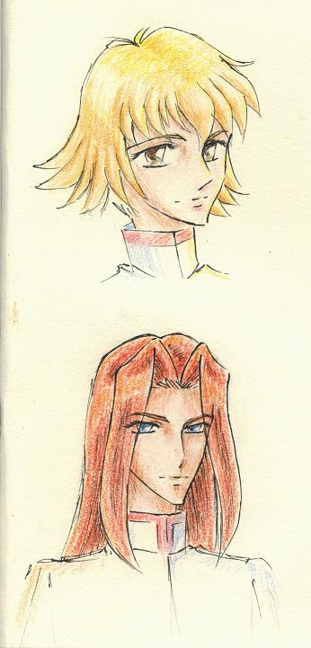 Random sketches by Utena-Lina