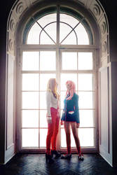 Pink Orange #01 by Utena-Lina