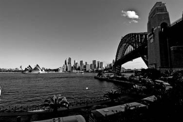 Sydney Bridge by Bigpanther