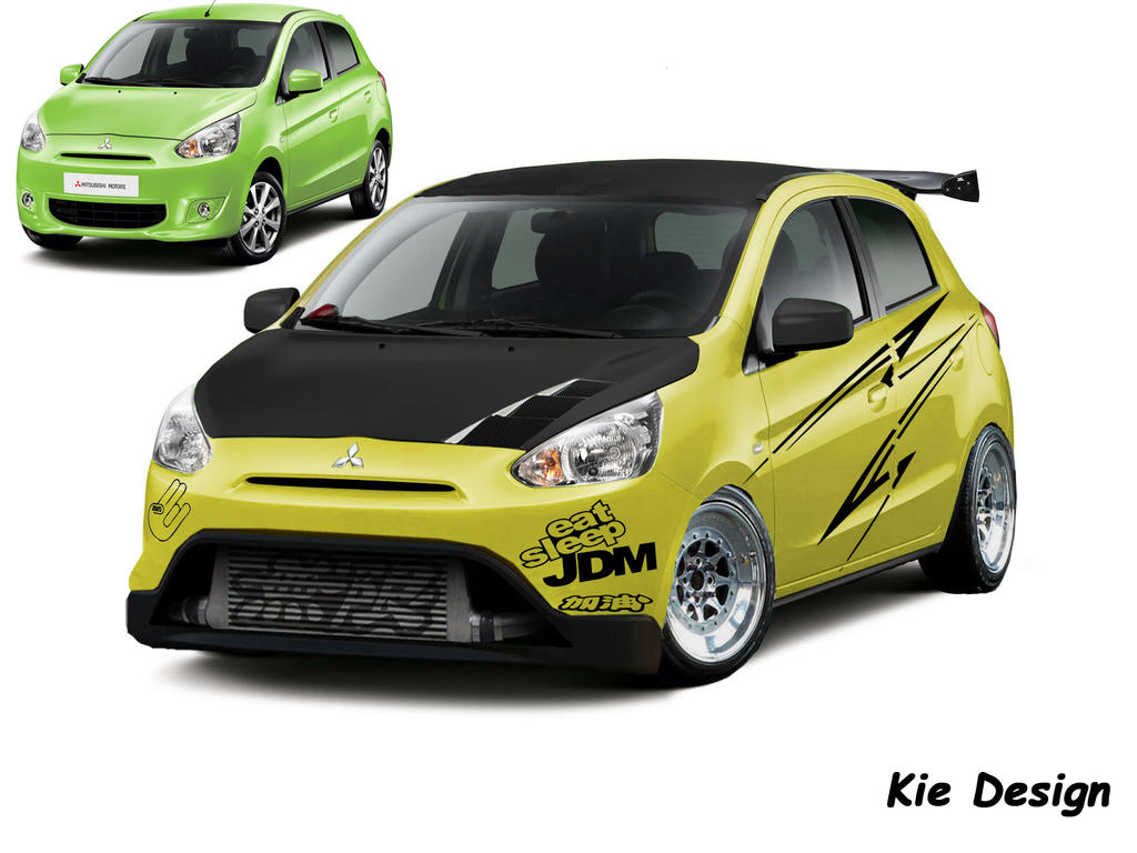 Mitsubishi Mirage by kiesupra on DeviantArt