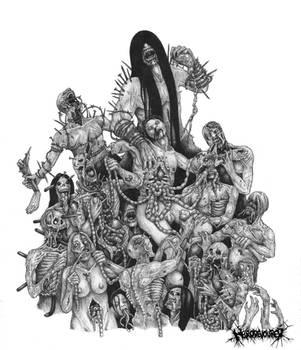 Voracious Necrocannibalistic Euphoria by DARK-NECRODEVOURER