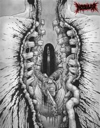 Blood Bursts Through The Steel by DARK-NECRODEVOURER