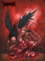 Of Evil Blood by DARK-NECRODEVOURER
