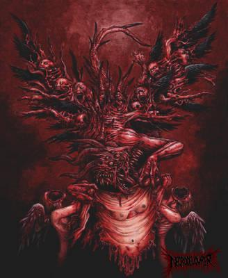 Revolting Wings of Torment by DARK-NECRODEVOURER