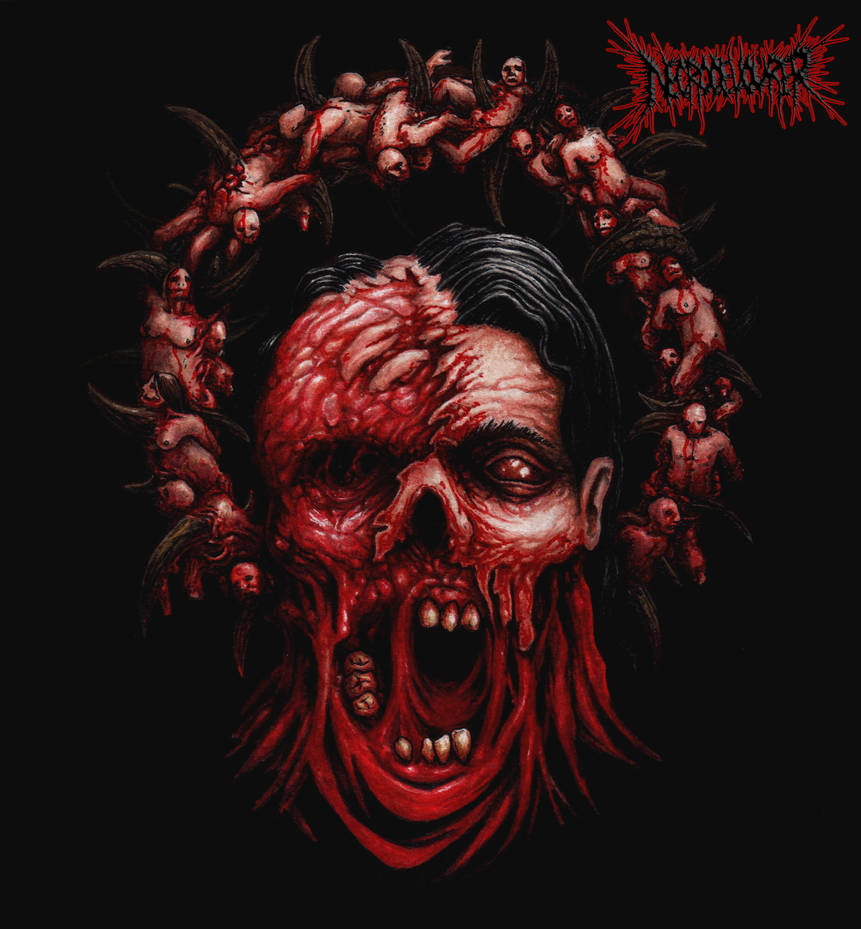 Defleshed Martyr by DARK-NECRODEVOURER