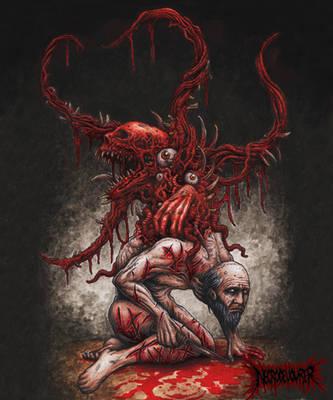 Our Flesh is Cursed by DARK-NECRODEVOURER