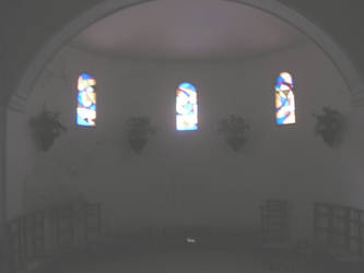 Pujol 9: Stained glass -apse- by tonymec