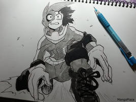 Deku from My Hero Academia (Fan Art) by AirtonCS