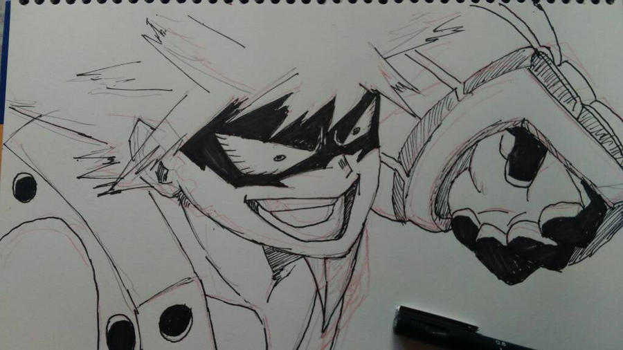 Kacchan from My Hero Academia by AirtonCS