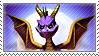 Stamp: Spyro by Kazu-Kei