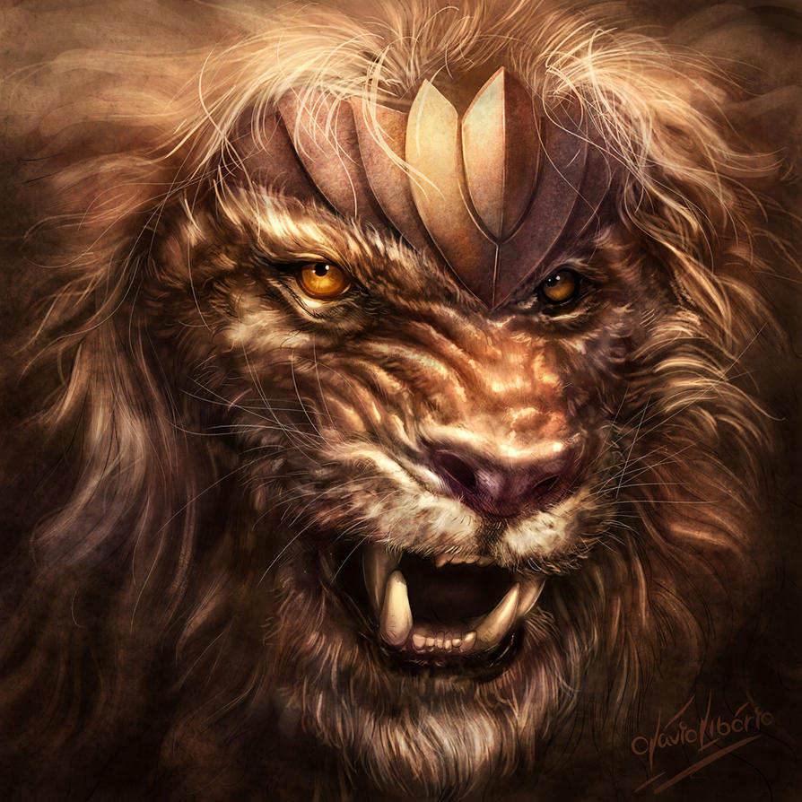 Fantasy lion - photo#22