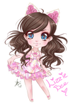 Chibi commission - Lizzie Bee
