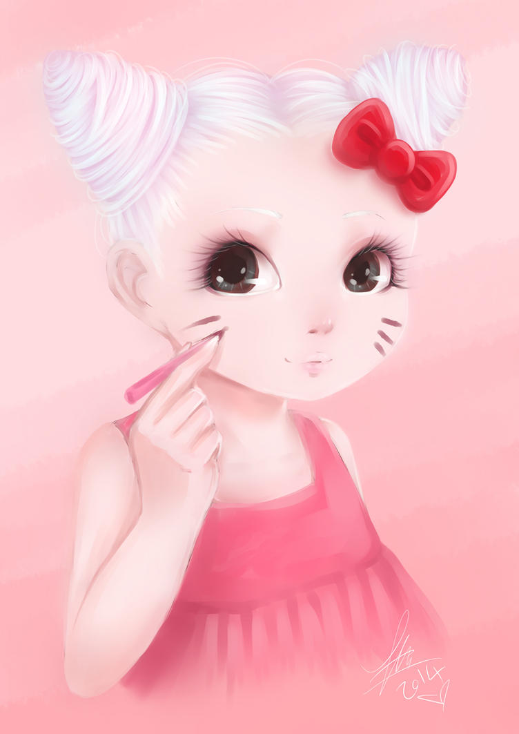 Hello Kitty by Chiichanny