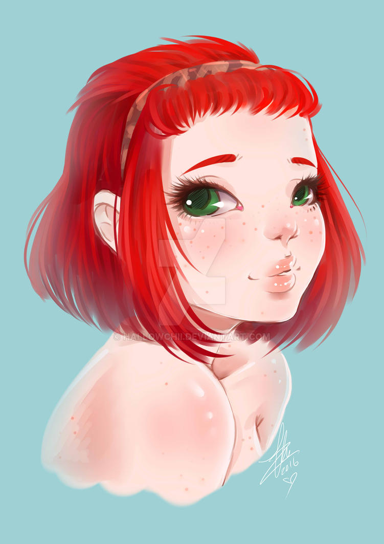 Commission - Yula Portrait by Chiichanny