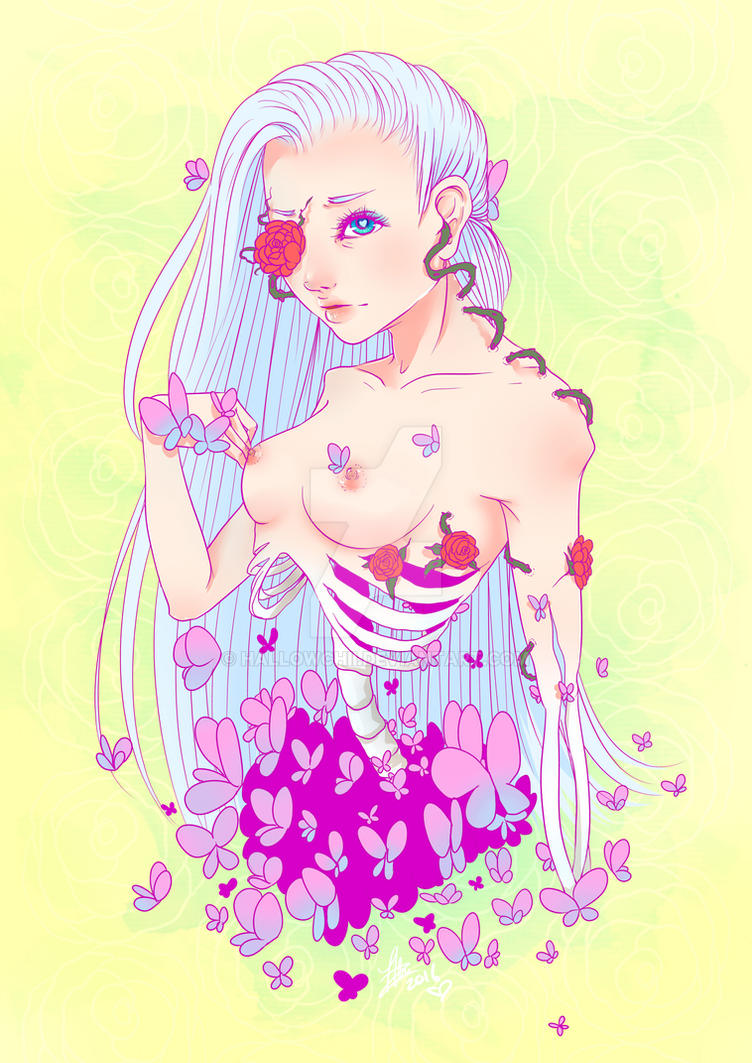 Butterfly Decay by Chiichanny